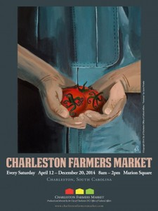 Charleston Farmers Market 2014 Poster FINAL PRINT (3)
