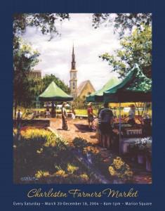 04 Charleston Farmers Market Poster