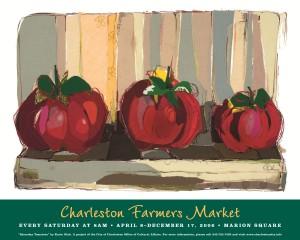 06 Charleston Farmers Market Poster
