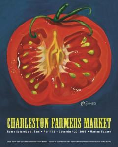 08 Charleston Farmers Market Poster