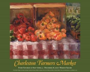 10 Charleston Farmers Market Poster