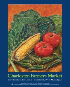 11 Charleston Farmers Market Poster