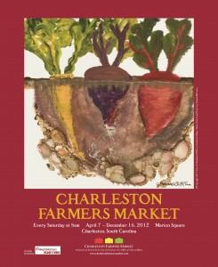 12 Charleston Farmers Market Poster
